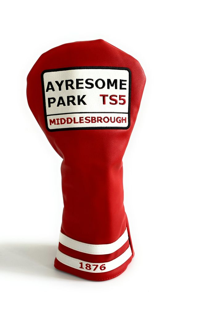 Ayresome Park Driver Head Cover