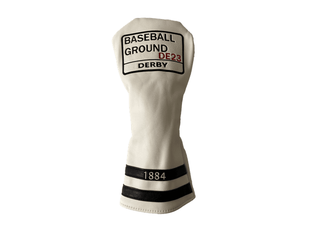 Baseball Ground Driver Head Cover