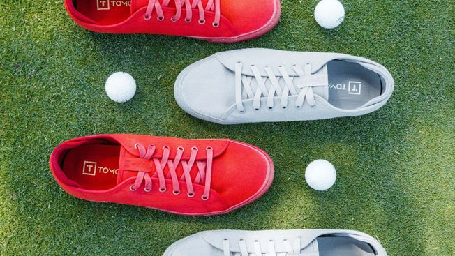 TOMO Vol. 2 - Men's Golf Shoe Good Luck Red