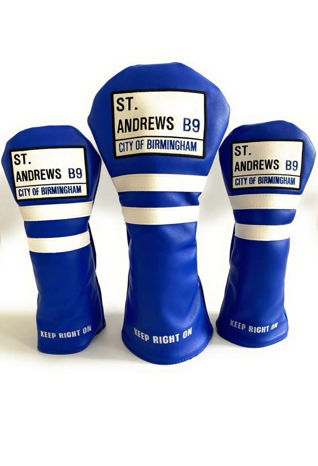 St. Andrews Head Cover Set