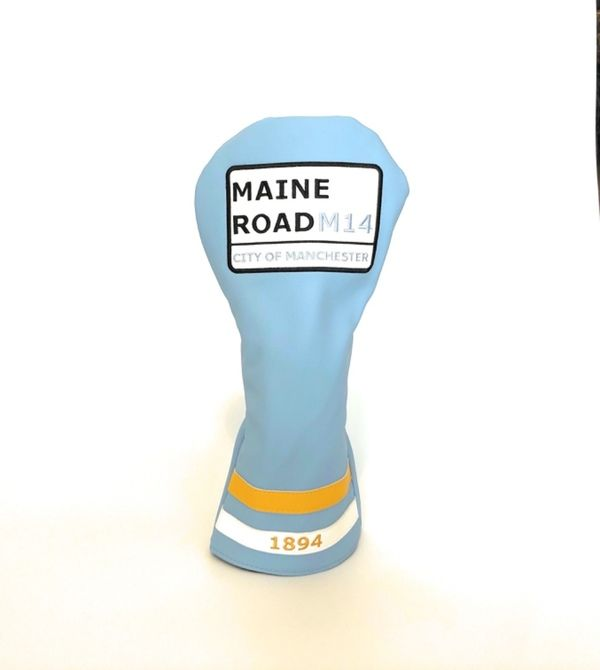 Maine Road Driver Head Cover