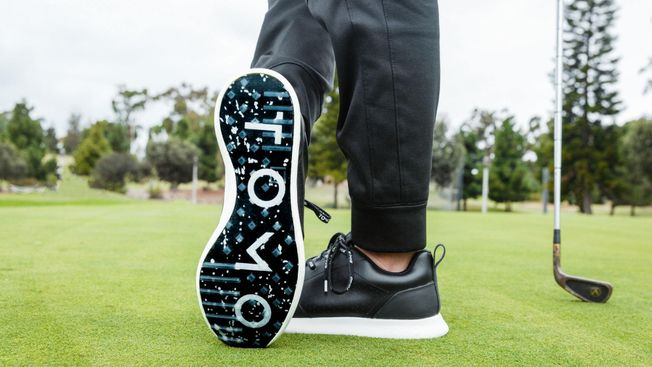 TOMO Vol. 1X - Men's Waterproof Golf Shoe Onyx