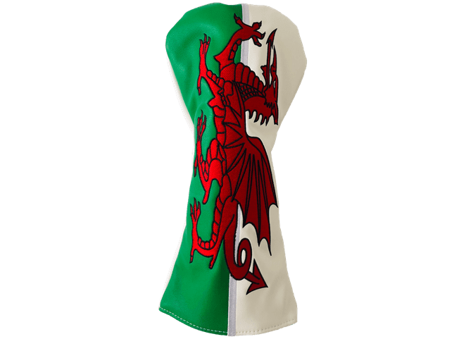 Welsh Flag Driver Head Cover