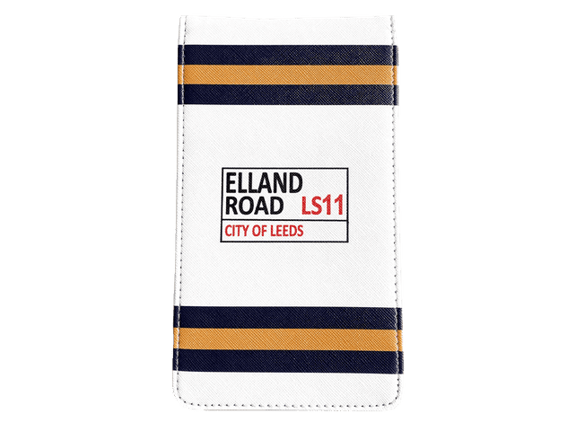 Leeds United Golf Scorecard Holder / Yardage Book